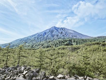 桜島の活火山