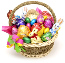 Happy easter hellos easter basket negle Gallery