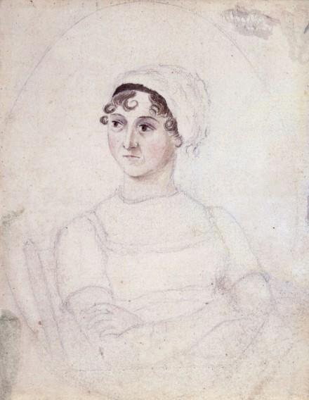 by Cassandra Austen,drawing,1810