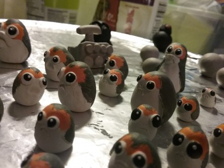 porg painted 5